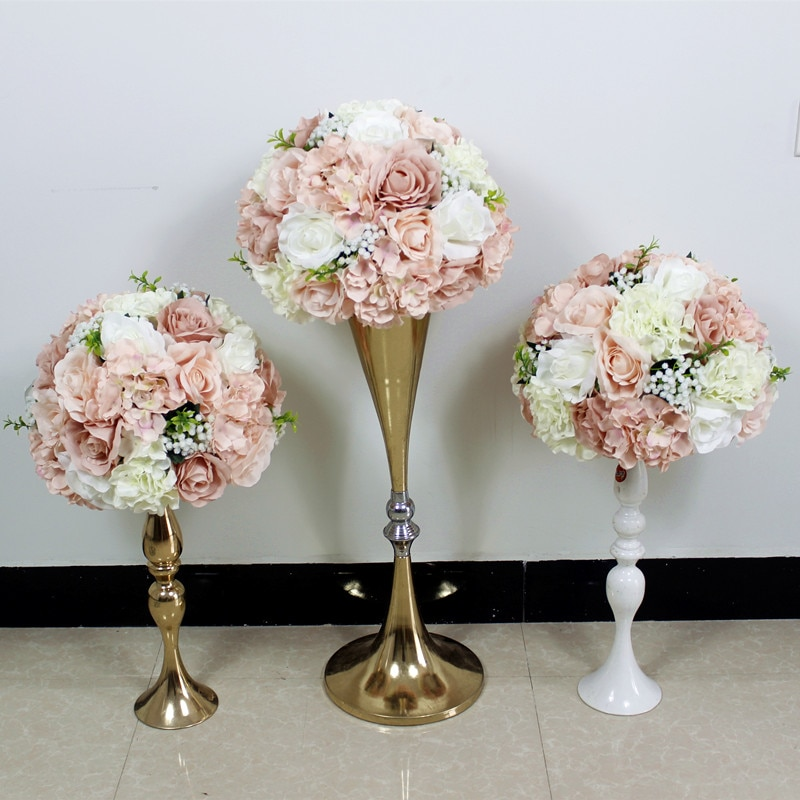 SPR best style wedding  table flower ball artificial arch flower wall 10pcs/lot wedding table centerpiece flore arrangement