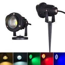 3 w 5 w 10 w Outdoor Tuin Landschap Licht AC220V 110 v DC12V LED Gazon Lamp COB Waterdichte Verlichting led Light Tuinpad Spotlight