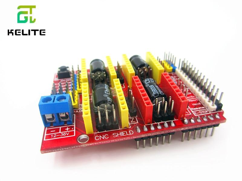 HAILANGNIAO новый cnc щит v3 гравировальный станок/3D принтер/A4988 Плата расширения драйвера