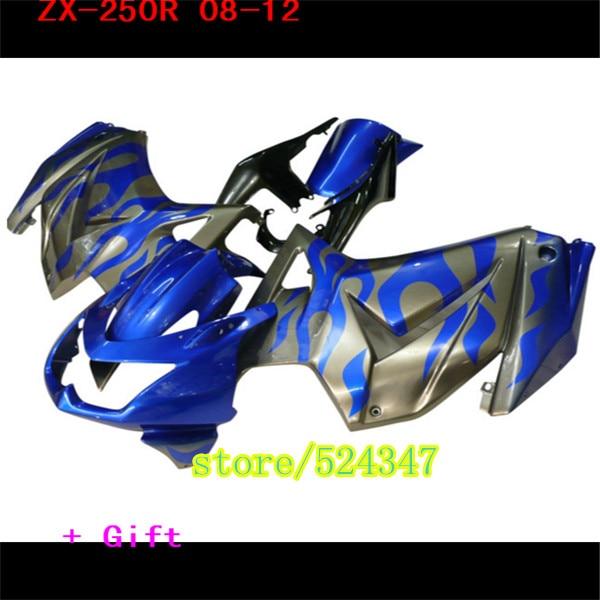 Injection Motorrad Zubehör & Teile para Für Kawasaki Ninja 250R 2008 - 2010 2012 08 09 - 12 ZX250R kit