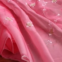 fabulous lace fabric flower embroidered fabric dress bridal veil floral lace fabric 59 1 inches wide 1 yard