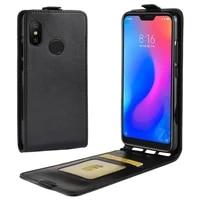flip case for xiaomi mi 9 mi 8 lite pro mi a2 lite luxury leather case for redmi note 7 7a note 8 pro 6a k20 mi 9t phone cover