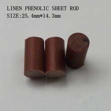 Virolas de Taco de freno Mezz PB2 varilla de virola de baquelita (sólida) para billar palo accesorios de taco (longitud 1 pulgada)