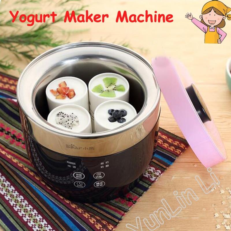 Yogurtera inteligente para el hogar, dispositivo automático de Yogurtera, queso, arroz, vino,...