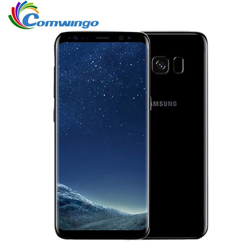 "Original Samsung Galaxy S8 más SM-G955U 4GB RAM 64GB ROM 6,2 ""Sim Octa Core Android huella 12MP 3500mAh teléfono"