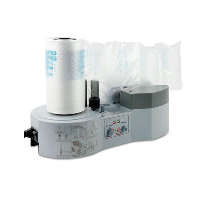 عالية الجودة GD-1000 الهواء وسادة وسادة فقاعة التعبئة والتغليف التفاف صانع آلة للشحن التعبئة حزمة توسيد
