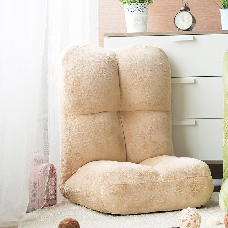 كرسي مريح الطابق 7 ألوان جميلة اليابانية مستلق