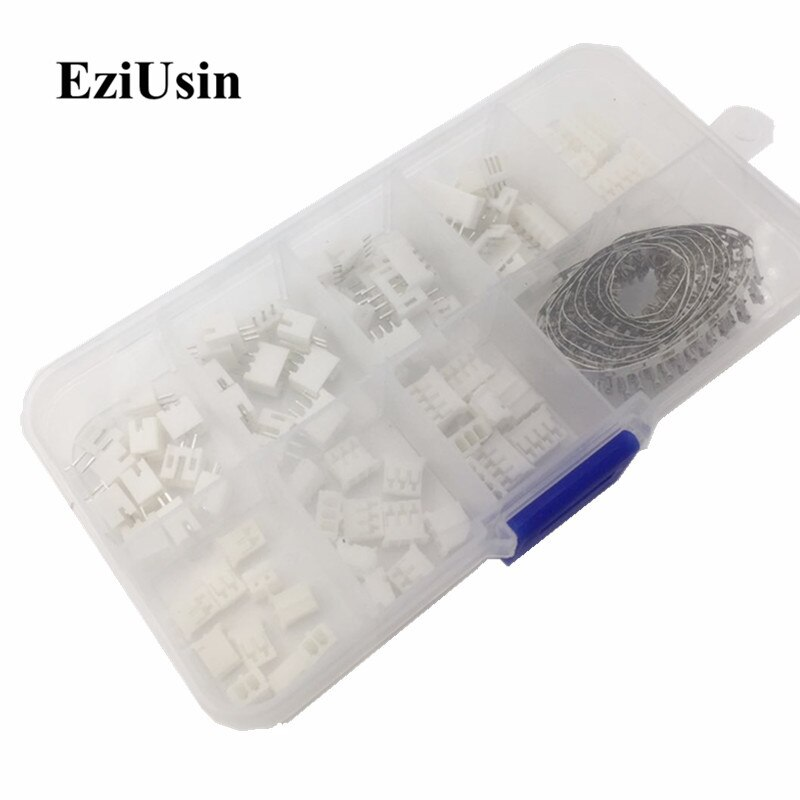 230 stücke PH 2,0 2p 3p 4p 5 pin 2,0mm Pitch Terminal Kit/Gehäuse/pin Header JST Stecker Draht Adapter PH Kits für 3D drucker