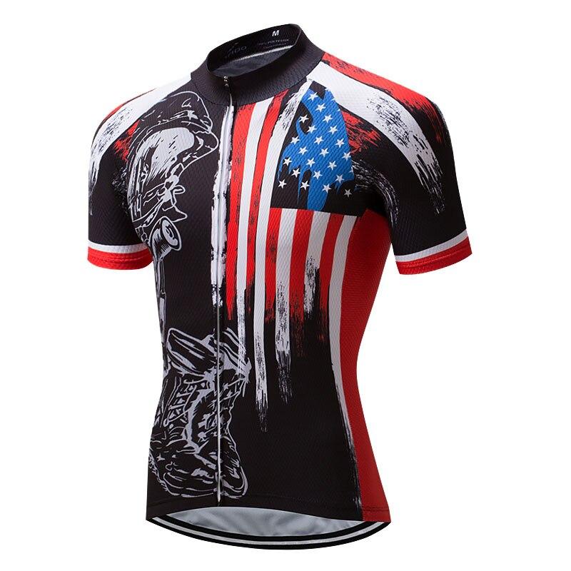 Crossrider-camisetas De Ciclismo para Hombre, Ropa De secado rápido para bicicleta De...
