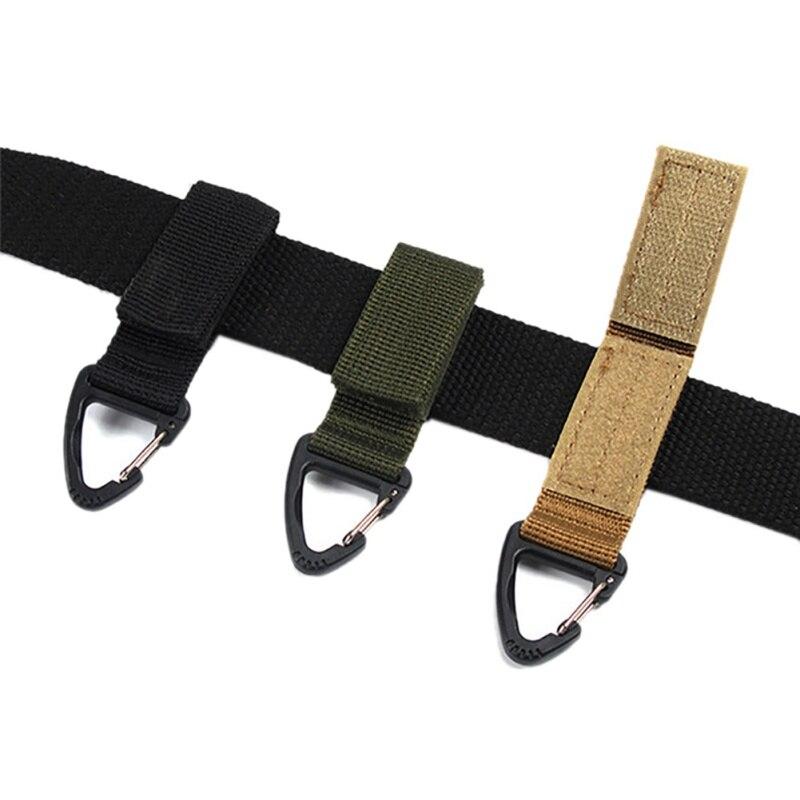 Тактический рюкзак, внешние инструменты, нейлоновый крючок для ключей, ленточная Пряжка, подвесная система, мягкая поясная пряжка