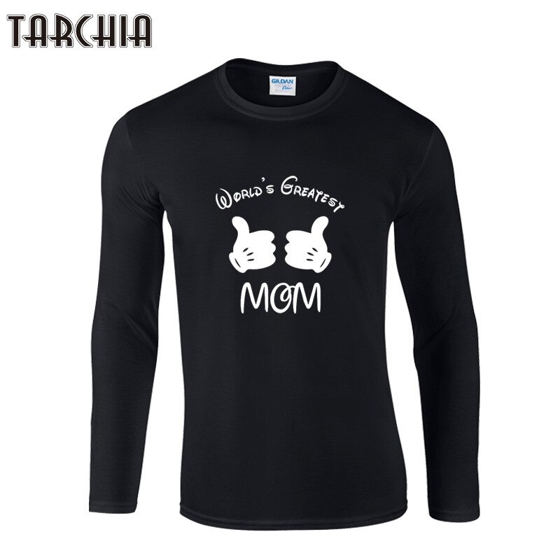 TARCHIA-Camiseta de manga larga con cuello redondo para Hombre, Camiseta informal ajustada,...