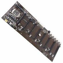 8PCIE 8GPU nuevo para Onda B250 BTC-D8P DDR3L 1151 BTC tablero de Minería (alternativa TB250-BTC PRO H81S2 TB85 H81A H81 H61 PRO BTC)