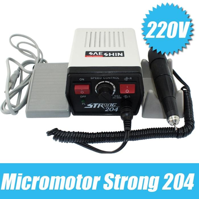 204 + 102l micro máquina micro máquina de moagem mini micromotor jóias máquina de polimento jóias