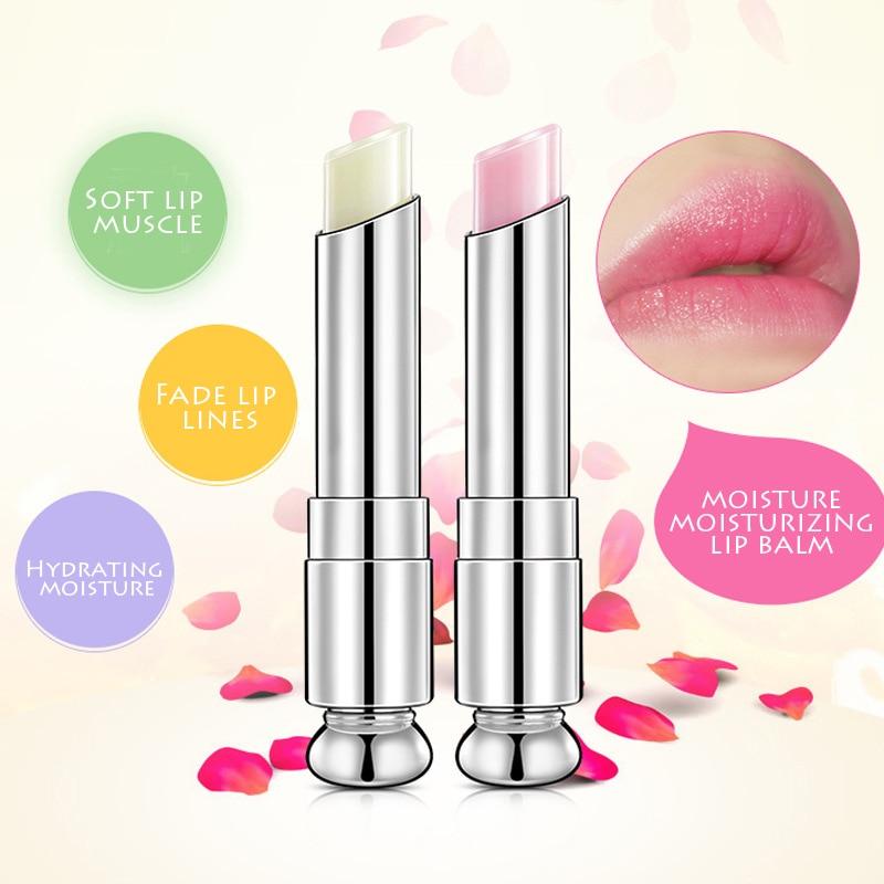 2019 New Nourishing Makeup Beauty Lip Gloss Lip Balm Moisturizer Lip Balms Makeup Anti-cracking lip Balm TSLM2