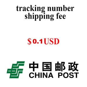 $0.1 Shipping Fee for Tracking Number For Resend The Goods