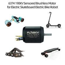 FLIPSKY 6374 190KV Electric Bike Motor Sensored Brushless Motor for DIY Electric Skateboard Electric Bike Robot