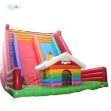 Biggors amusement gonflable château sautant toboggan gonflable maison pleine dentrain glissières deau gonflables