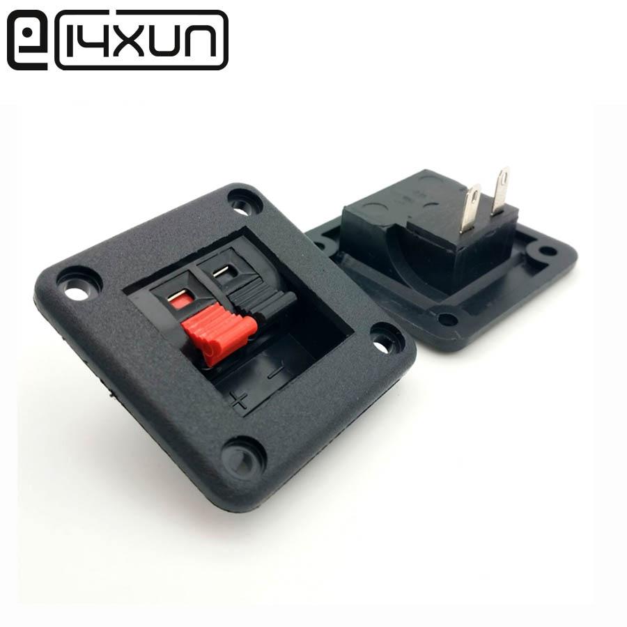 1 stücke WP Externe Banana jack 2Pin Lautsprecher Verstärker Draht Clip Audio Buchse WP2-5 2 Pole DIY LED Frühling Terminal schalter