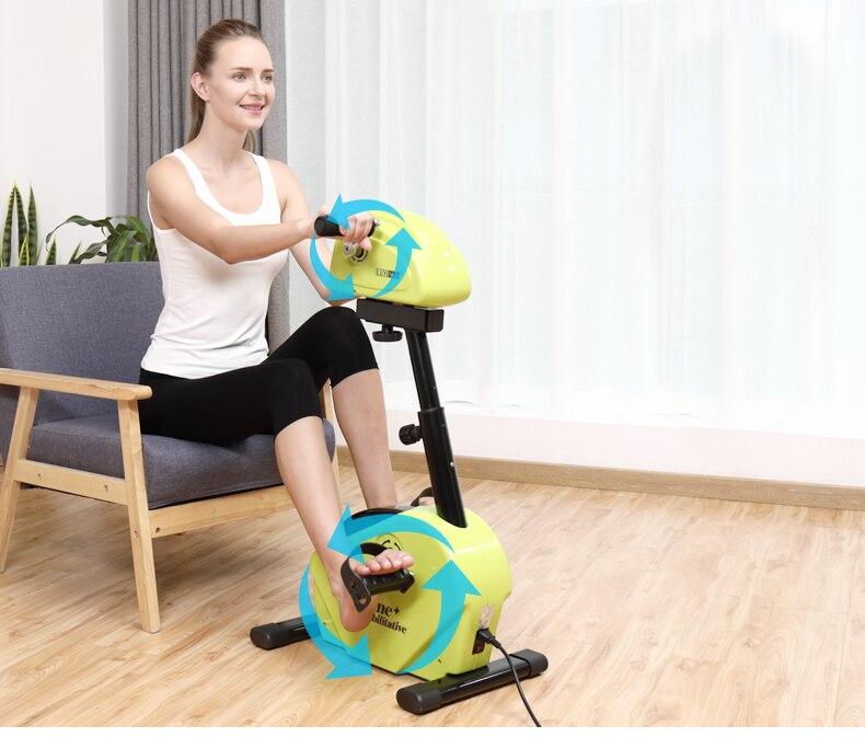 Livraison gratuite confiance Fitness motorisé électrique Mini vélo dexercice/pédale exercice