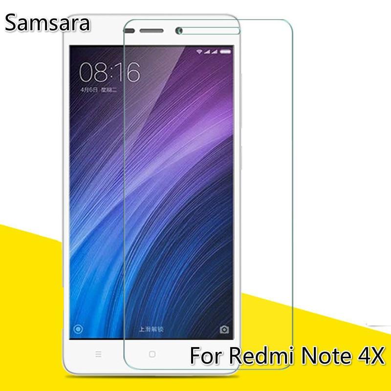 Vidrio templado para xiaomi redmi note 4 x Protector de pantalla para Xiomi redmi note 4 X vidrio 2.5D teléfono móvil película de vidrio para nota 4x