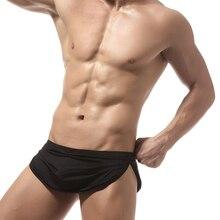 En gros 3 pièces côtés Split Shorts Sexy G-string pantalon hommes gymnases Sport survêtement pantalons de survêtement homme actif course Jogging caleçons