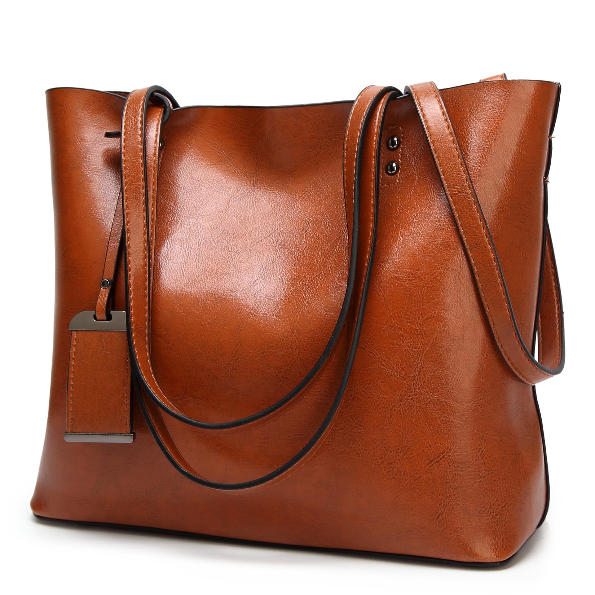 Bolsos de mano de lujo de cuero genuino, bolso de diseñador para mujer, bolsos cruzados Vintage de hombro para mujer, alta calidad C1079