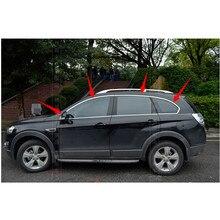 Hoogwaardige Roestvrij Stalen Strips Autoruit Bekleding Decoratie Accessoires Auto Styling Voor 2011-2014 Chevrolet Captiva (6 Stuk)