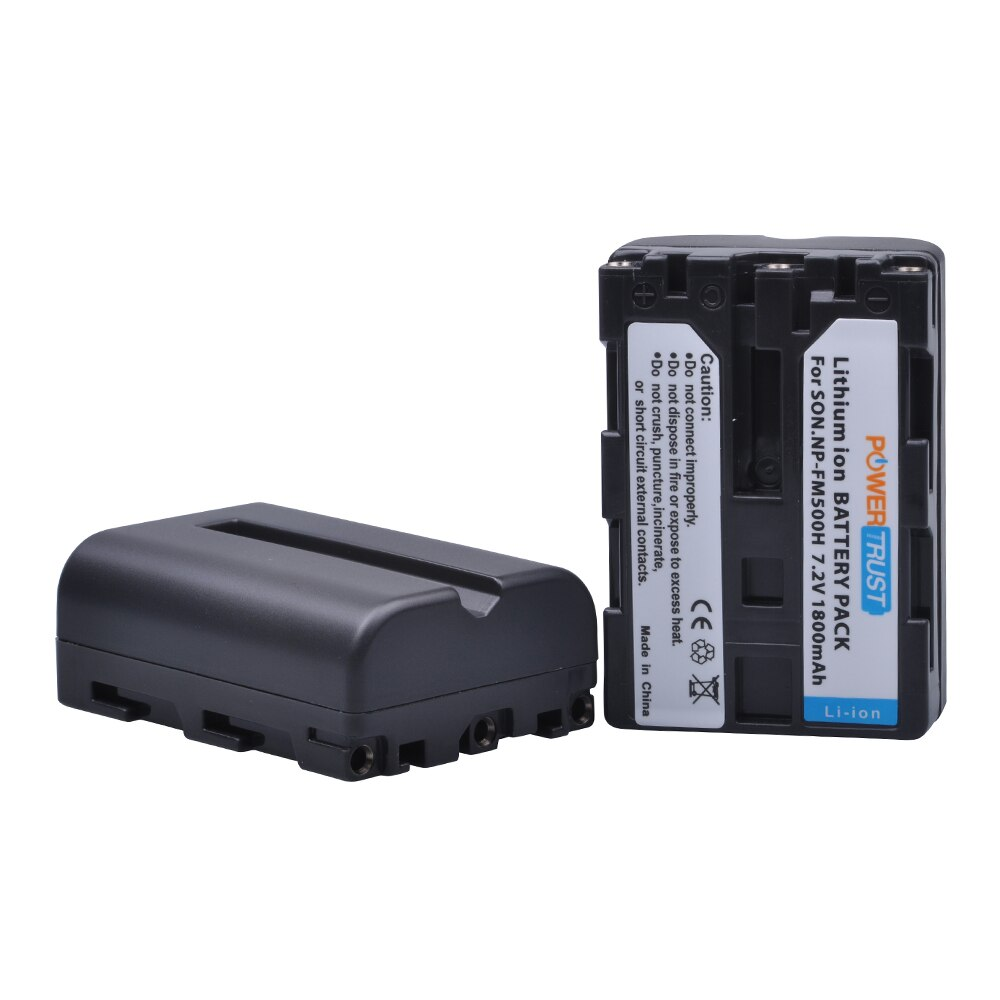 travor camera battery grip holder for sony stl a77 a77v a77ii a99ii replace vg c77am work with np fm500h battery PowerTrust 2Pcs 1800mAh NP-FM500H NP FM500H Camera Battery for Sony A57 A58 A65 A77 A99 A200 A350 A450 A550 A560 A700 A580 A900