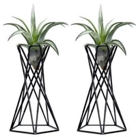 pack of 2 tabletop air plant holder air plant stands air plant container tillandsia holder tillandsia stand home decor