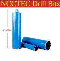 168mm*450mm NCCTEC crown diamond drilling bits | 6.7'' concrete wall wet core bits | Professional engineering core drill