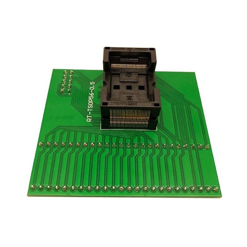 شحن مجاني TSOP56 RT809H RT809F محول البرمجة المقبس 0.5 IC اختبار المقبس فلاش IC اختبار المقبس مكشوفة زيف محول