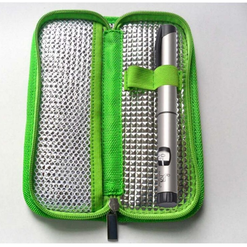New Portable Insulin Cooler Bag Diabetic Patient Organizer Medical Travel Insulated Cases & Splitter