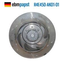 Ebmpapst R4E450-AK01-01 AC 230V 3A 680W 450x450mm odśrodkowy wentylator chłodzący