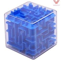 Omo cubo mágico labirinto jogo rolamento bola equilíbrio cérebro teaser brinquedo