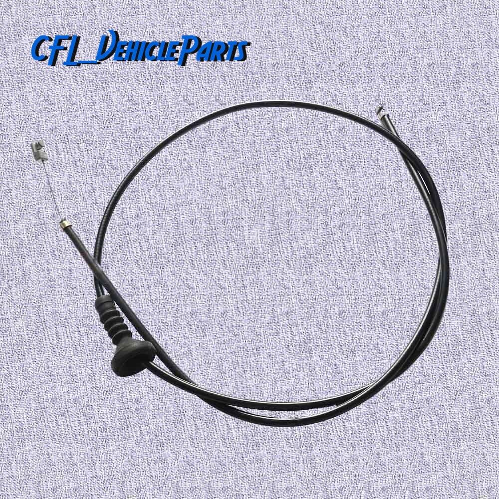 Câble de dégagement du capot du moteur   Câble Bowden 51237060529 51 23 7 060 529 pour BMW série 3 E90 325i 2004 2005 2006