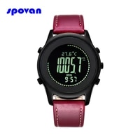 relogio masculino spovan luxury brand sport watch waterproof led compass altimeter pedometer digital wristwatches clock for men
