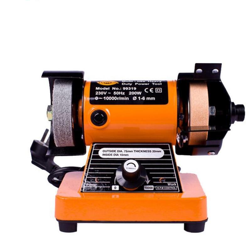 Household Diy Polishing Machine Micro Desktop Polishing Lathe Electric Grinder 99319