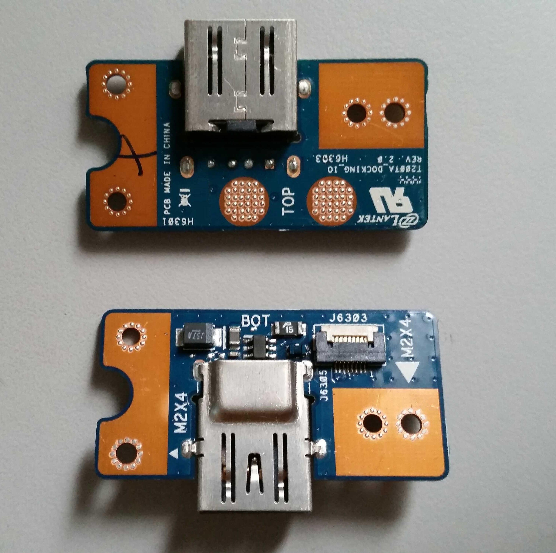 De fecha USB de carga dock flex cable para Asus libro de transformador T200TA puerto de conector USB cargador PCB Puerto board replacement