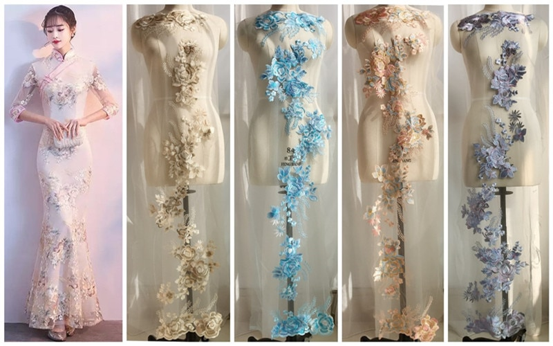 Appliques de perles 3D exquises 5 couleurs   Peut être sélectionnée accessoires pour vêtements de bricolage, RS2060
