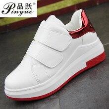 Femmes chaussures printemps automne blanc caché talons compensés chaussures décontractées femmes ascenseur talons hauts pour femmes plate-forme chaussures