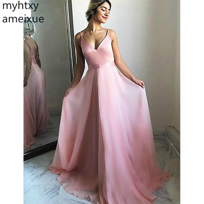 Elegant Cheap Sexy Evening Dress A-line Long Floor Length Formal Prom Party Dresses Sleeveless Gown Custom Made Robe De Soiree недорого