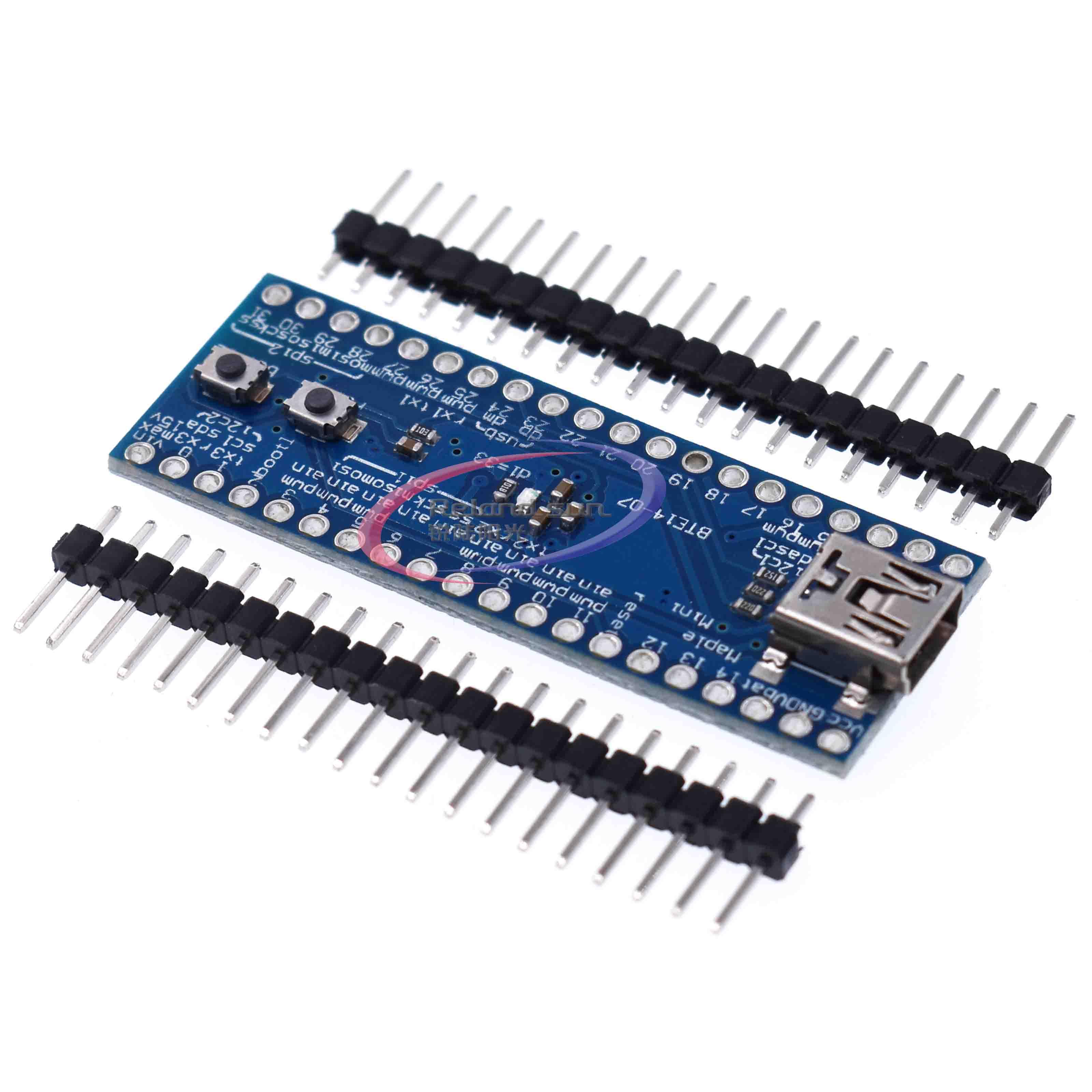 Mini USB STM32F103RCBT6 Maple Mini 32 ARM Cortex-M3 3.3V 72MHz 128KB Flash Board Module For Arduino With SPI/I2C USART 34Pins