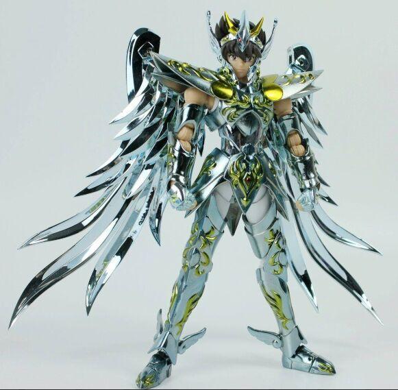 Oferta especial oferta especial gran juguetes Pegasus V4 modelo GT EX Dios EX armadura de metal de bronce sog figura de acción