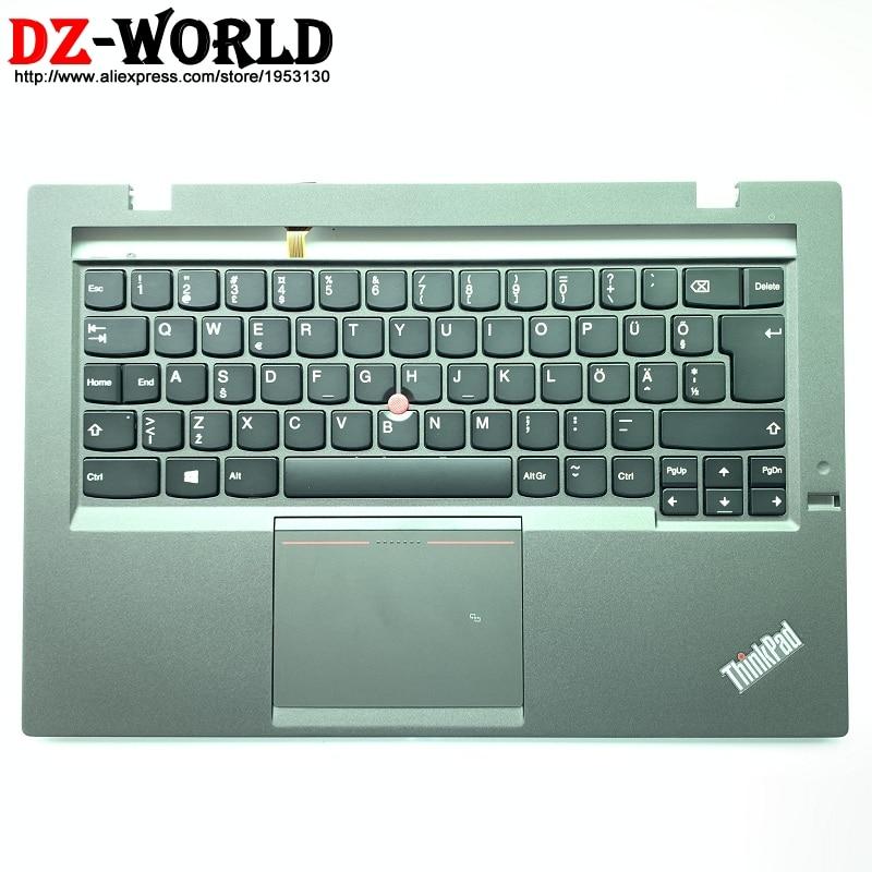 Eesti New Palmrest Upper Case With Estonian Backlit Keyboard Touchpad NFC for Thinkpad X1 Carbon 2nd Gen 2 00HN904 00HN906