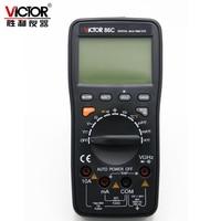 Цифровой универсальный мультиметр Victor VC86C, настольный измеритель постоянного тока/переменного тока/частоты/температуры с USB-интерфейсом и ...