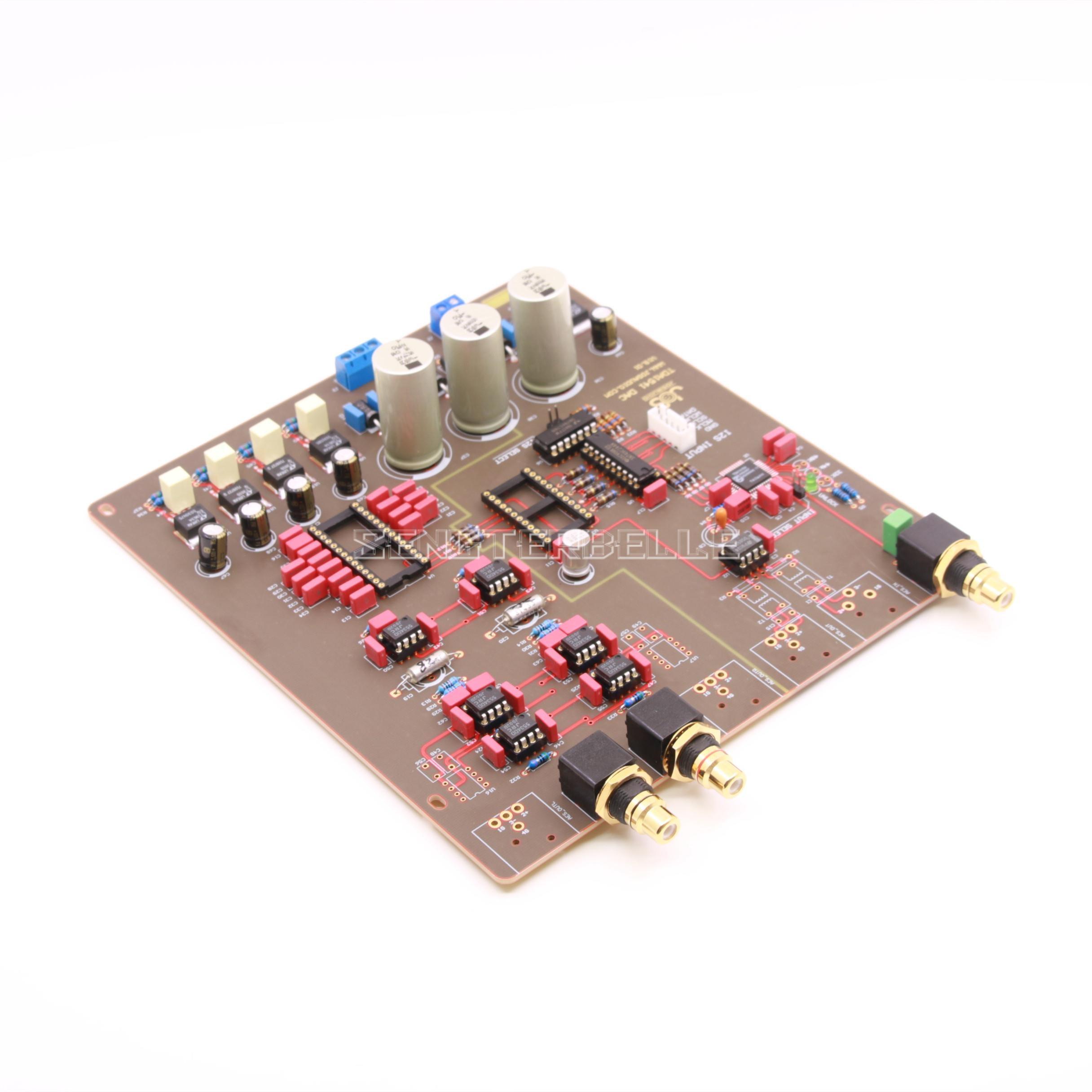 Semi-acabado TDA1541 CAD Junta convertidor de digital a analógico inspirado por Philips