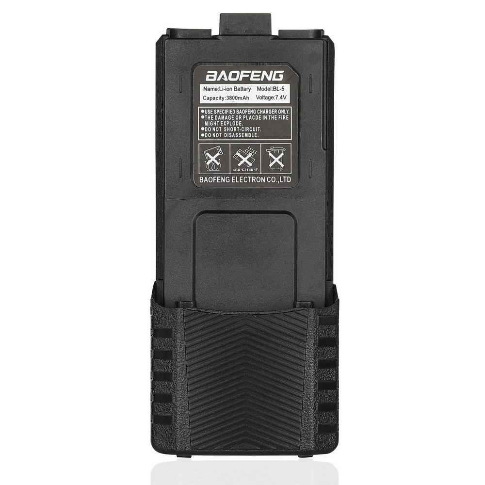 Baofeng Hohe Kapazität walkie talkie batterie 3800mAh für zwei-weg radio UV-5R UV-5RE UV5RE batterie box Baofeng Zubehör ES UK