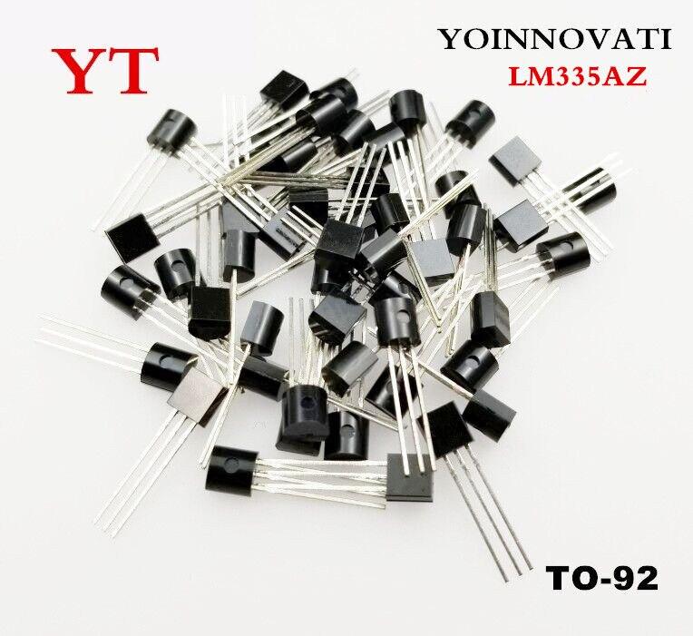 10 unids/lote LM335AZ LM335A LM335 SENSOR de temperatura ratiométrico a-92 de la mejor calidad