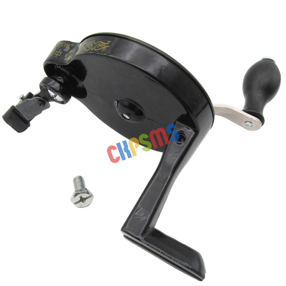 Manivelle pour les Machines à coudre Singer   # HA-1-126, adapté à la pédale de roues à rayons, Machines à coudre 15 ,127,128,66, 99 1 ensemble