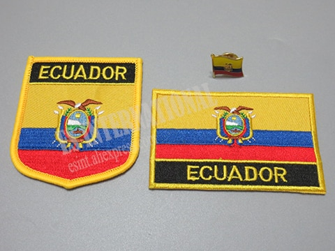 Национальный флаг вышивка патчи и металлический флаг отворот булавка